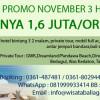 Promo Paket 3 Hari 2 Malam Bali November 2013