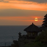 Sunset di Pura Tanah Lot