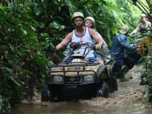 ATV Riding Bersama Paddy Adventure Bali