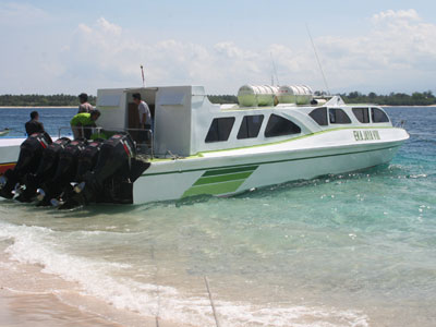 Fast Boat Bali ke Lombok Bersama Eka Jaya