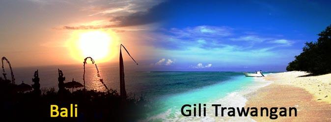 Paket Wisata Bali - Gili Trawangan 3 Hari 2 Malam