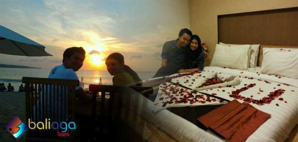 Paket Bulan Madu Bali 5 Hari 4 Malam Romantic Honeymoon